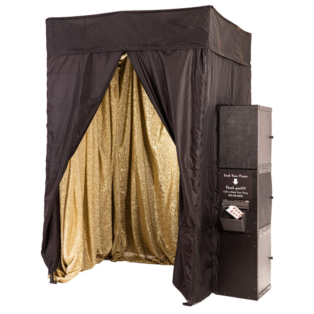 Enclosed Photo Booth contact us